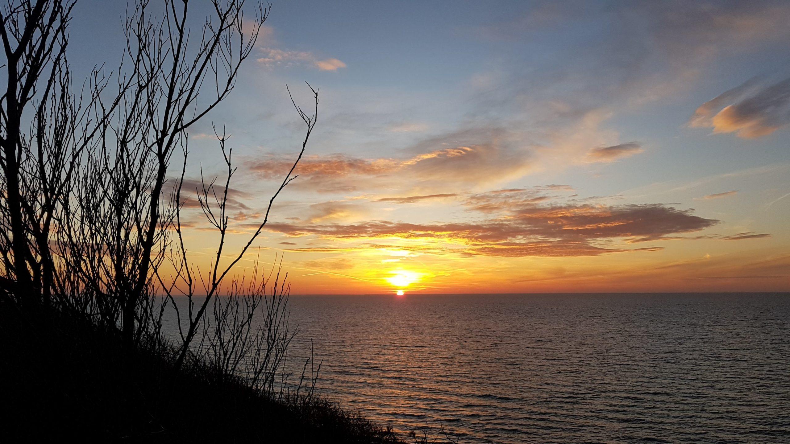 Kloster Sunset 18.12.2020