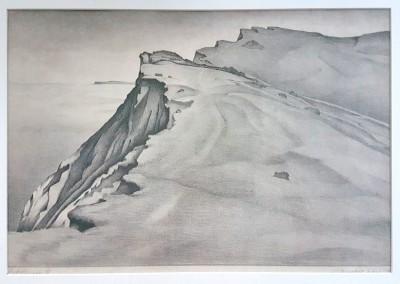 """Lietzenburg Kunst - Lithographie """"Hiddensee II"""" (1927) von Alexander KANOLDT (1881-1939)"""