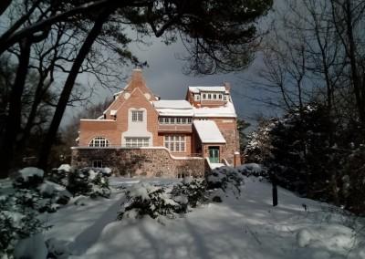 Die Lietzenburg im Winter (Feb. 2021)