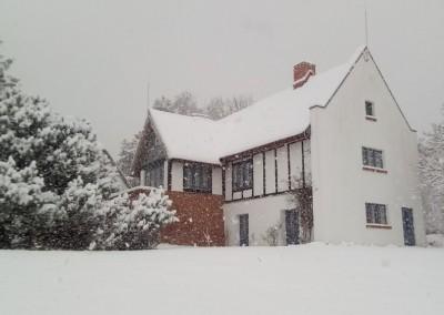 Der Sèthehof im Winter (Feb. 2021)