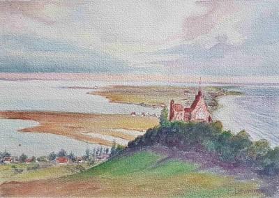 "Henni LEHMANN (1862-1937), Aquarell ""Lietzenburg"" (undatiert)"