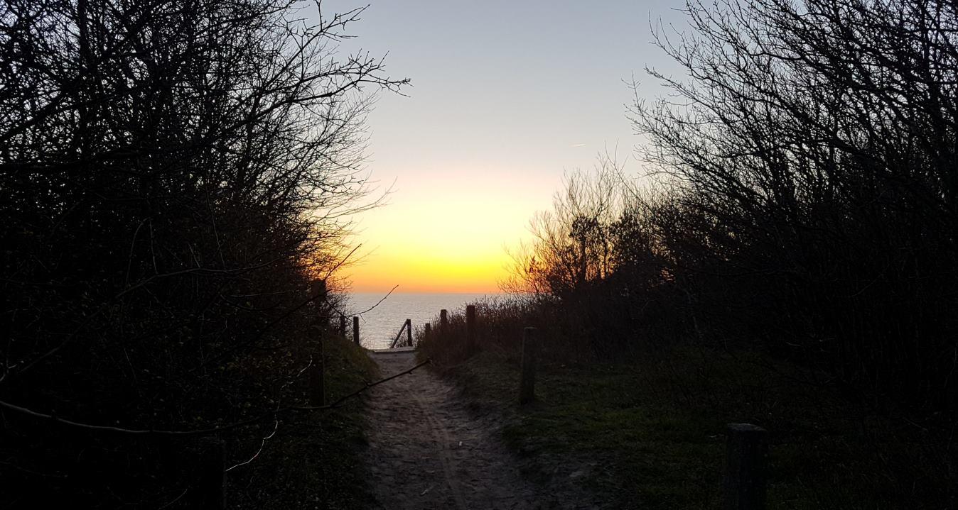 Lietzenburg-Gelaende - Strandtreppenweg im Twilite