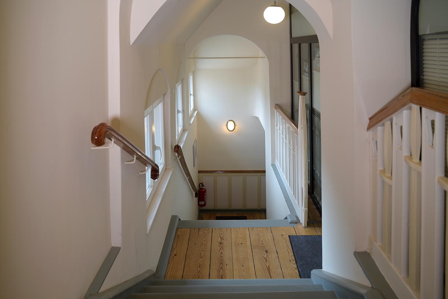 Lietzenburg Innenansichten - Treppenhaus