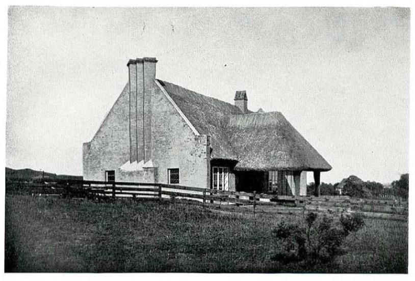 Der Sèthehof auf Hiddensee von Südwest (ca. 1930)